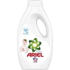 Ariel lessive liquide bébé 16 lavages (0,88l)