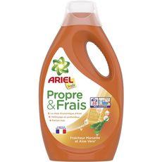Ariel Propre & Frais lessive liquide fraîcheur Marseille 33 lavages 1,8l
