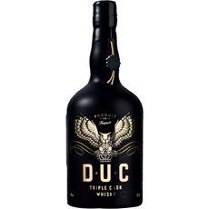 D.u.c Whisky triple cask 40% 70cl