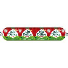 ISLA DELICE Saucisson volaille boeuf olives halal 500g