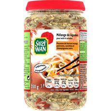 SUZI WAN Mélange de légumes pour wok et salade 3 personnes 350g