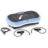 FIT FOR LIFE Machine de vibration de remise en forme Fit-Vibro Plate Noir et bleu
