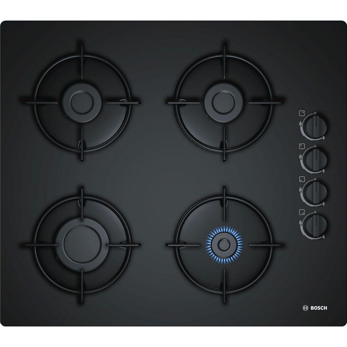 Table de cuisson à gaz POP6B6B10, 60 cm, 4 foyers