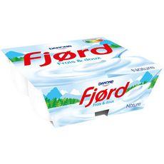 FJORD FJORD Yaourt nature 4x125g 4x125g 4x125g