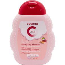 COSMIA Kids shampoing enfant démêlant cerise & amande douce 250ml