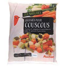 AUCHAN Auchan Légumes pour couscous 1kg 5 portions 1kg