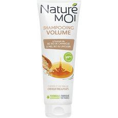 NATURE MOI Shampooing volume riz & miel bio cheveux fins & plats 250ml