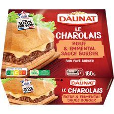 Daunat Burger pavé charolais 180g