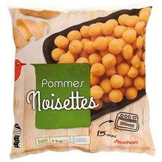 AUCHAN Pommes de terre noisettes 1kg