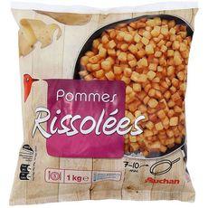 AUCHAN Pommes de terre rissolées 1kg