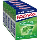 Hollywood fresh greenfresh sans sucre dragées 5x10 -70g