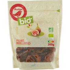 Auchan bio Figues moelleuses bio 200g