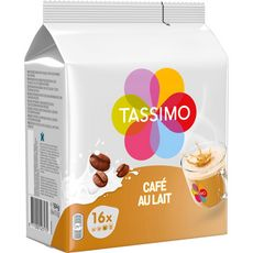 Tassimo Café au lait en dosette 184g
