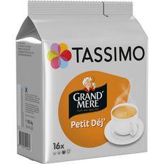 Tassimo Dosettes de café Grand'Mère petit déj' X16-132g