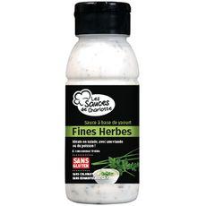 Les sauces de Charlotte fines herbes 250g