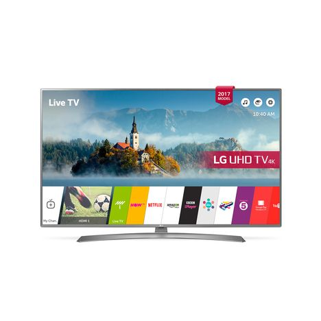 43uj670v tv led 4k uhd 43 108 cm hdr smart tv lg pas cher prix auchan. Black Bedroom Furniture Sets. Home Design Ideas