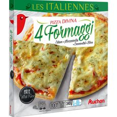 AUCHAN Pizza 4 fromages 340g