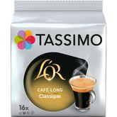 Tassimo Tassimo L'Or café long classique dosette x16 -89g