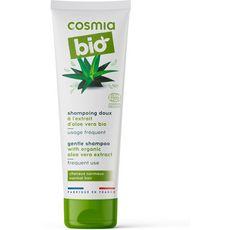 Cosmia Bio Shampoing doux aloe vera bio cheveux normaux 250ml