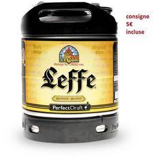 LEFFE Bière blonde 6,6% fût 6l