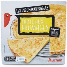 AUCHAN Tarte aux fromages 400g