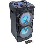 BOOST Enceinte active 2 voies Bluetooth Powersound300CD - Noir