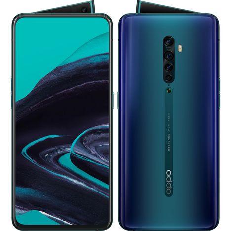 OPPO Smartphone Reno2 256 Go 6.5 pouces Bleu 4G+ Double SIM
