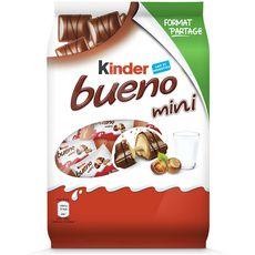 KINDER Kinder Bueno Mini barres chocolatées x40 220g 40 barres 220g