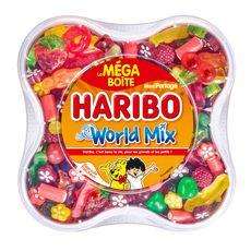 Haribo bonbons world mix 900g mega boite