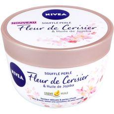 NIVEA Crème huile souflée perlée fleur de cerisier 200ml