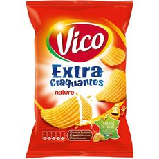 Vico chips extra craquantes nature 135g
