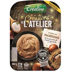 CREALINE Créaline Purée de marrons et sa pointe de crème fraîche 360g 360g