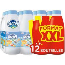 LACTEL Lactel Lait demi-écrémé UHT 12x1l 12x1l