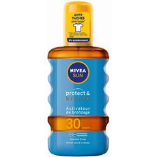 Nivea Sun Protect & Bronze Spray huile activateur de bronzage SPF30 200ml