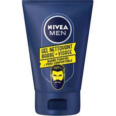 Nivea Men Gel nettoyant visage et barbe 100ml