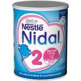 Nestlé Nestlé Nidal 2 lait 2ème âge en poudre dès 6 mois 800g