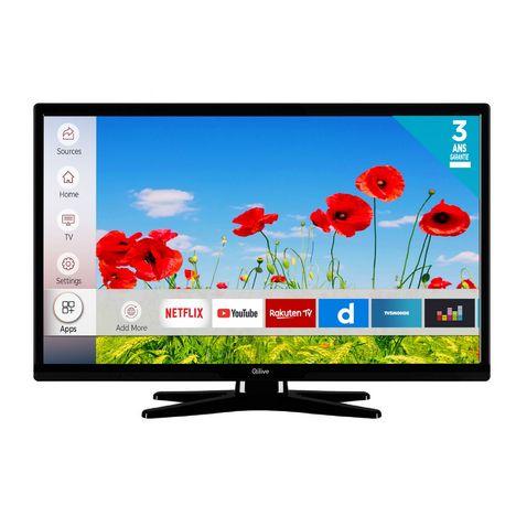 QILIVE Q24-822 TV LED HD 60 cm Smart TV