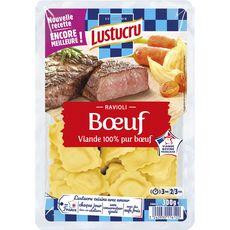 LUSTUCRU Ravioli au boeuf 2-3 portions 300g