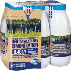 Lactel L'Appel des Prés lait demi-écrémé 6x1l
