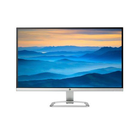 HP Ecran PC 27es 27 pouces Full HD Noir Argent