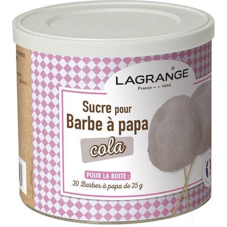 LAGRANGE Sucre pour Barbe à Papa  parfum Cola - 380009