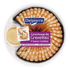 Delpierre couronne queue de crevettes cocktail 190g