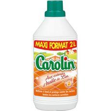 Carolin huile de lin toutes surfaces 2l maxi format