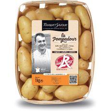 Pommes de terre Pompadour Label rouge 1kg 1kg