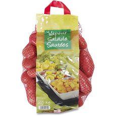 AUCHAN Auchan Pommes de terre rouges vapeur salade sautées 2,5kg 2,5kg