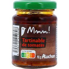 Auchan Gourmet Tartinable de tomates 90g