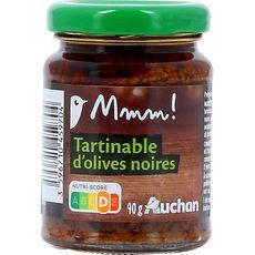 Gourmet AUCHAN MMM! Tartinable d'olives noires