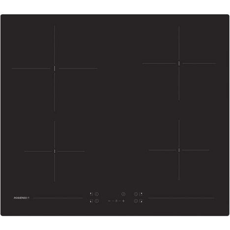 ROSIERES Table de cuisson vitrocéramique RH64CT/1, 60 cm, 4 Foyers