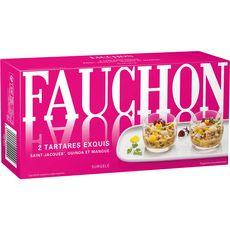 FAUCHON Fauchon Tartare exquis Saint-Jacques, quinoa et mangue 150g 2 pièces 150g