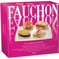 FAUCHON Fauchon Canapés divins 110g 16 pièces 16 pièces 110g